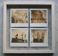 26x26 cm, polaroid on glass, 2011
